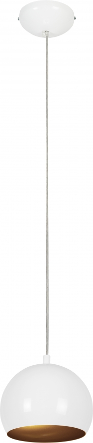 BALL WHITE-GOLD I 6602, h=120 cm