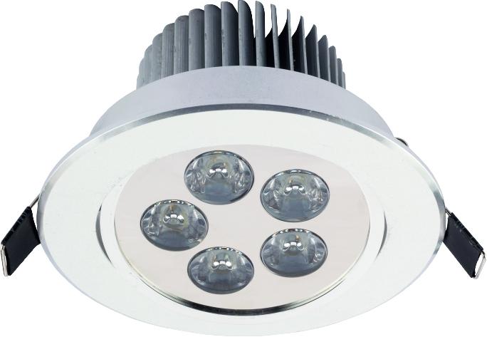 DOWNLIGHT LED V SILVER 6822, 4000K, 500-555 lm