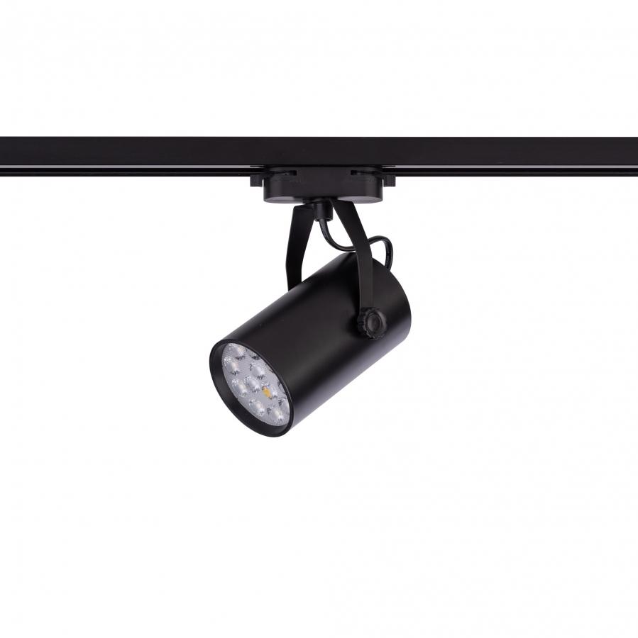 PROFILE STORE PRO LED BLACK 12W, 3000K 8323, h=19.6cm