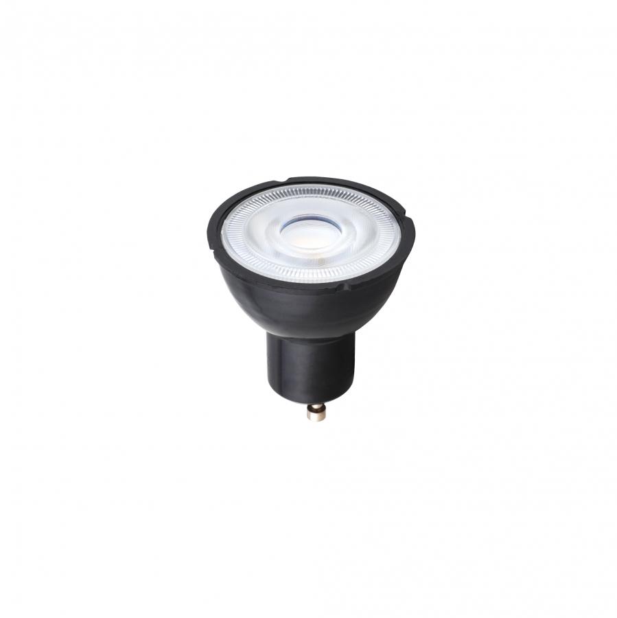 REFLECTOR LED 7W, 4000K, GU10 ,R50, ANGLE 36, BLACK, 8347, h=5.4cm