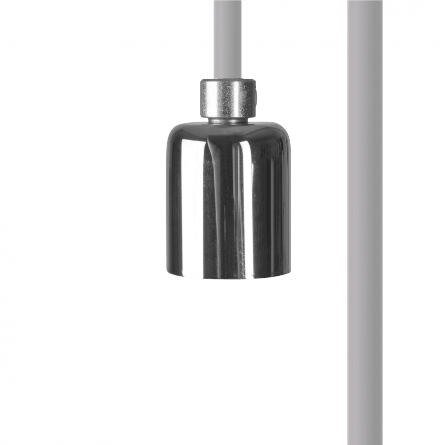 CAMELEON CABLE GU10 WH/CH 8614, h=500 cm