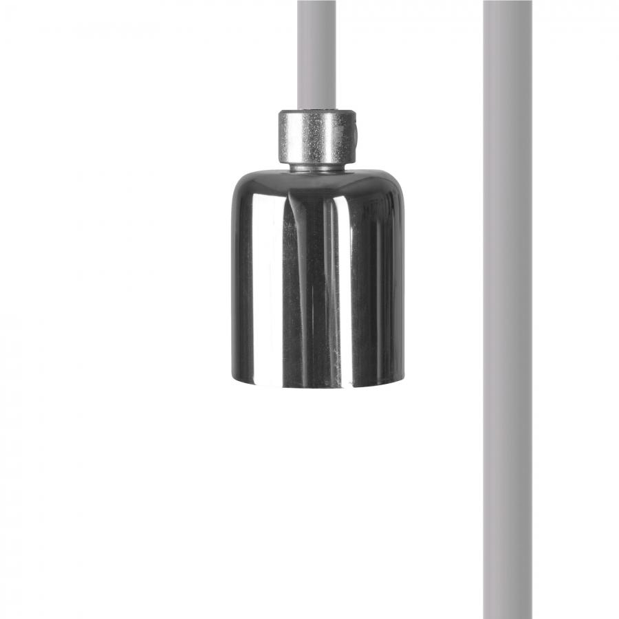 CAMELEON CABLE GU10 WH/CH 8620, h=150 cm