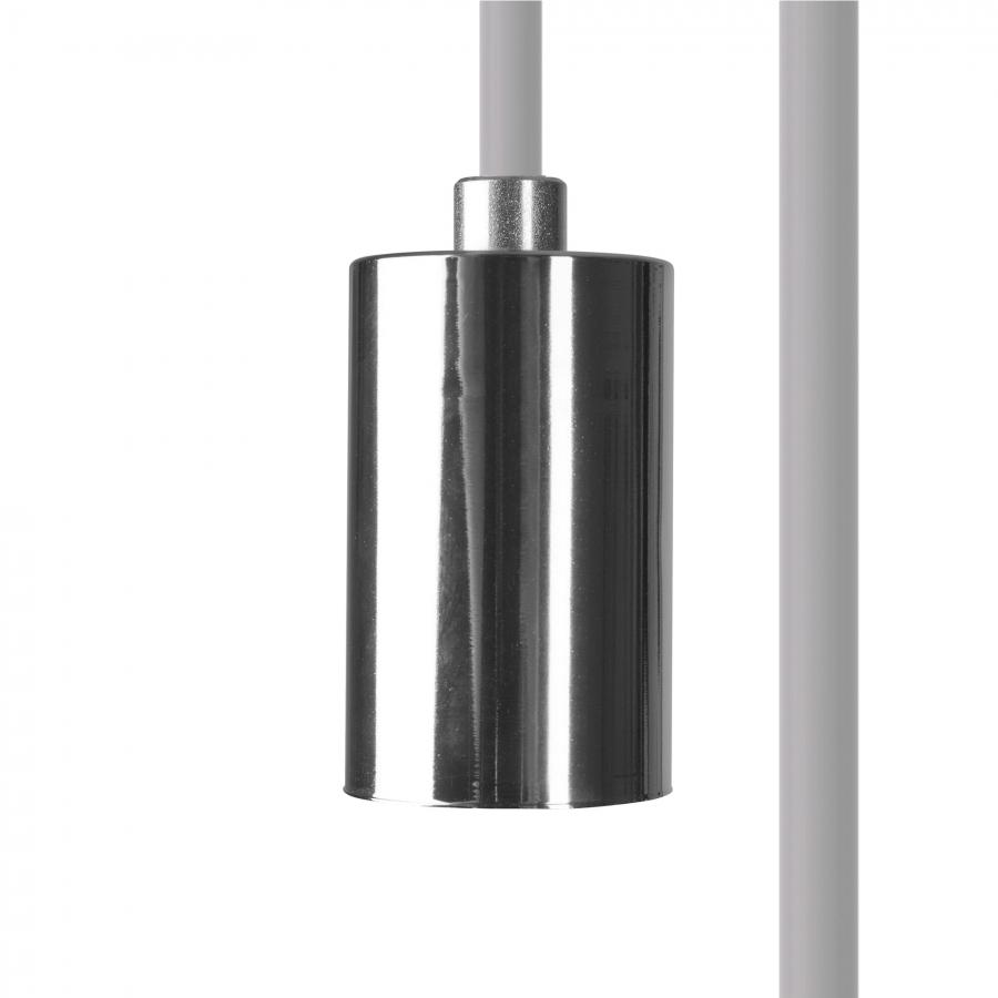 CAMELEON CABLE E27 WH/CH 8650, h=150 cm