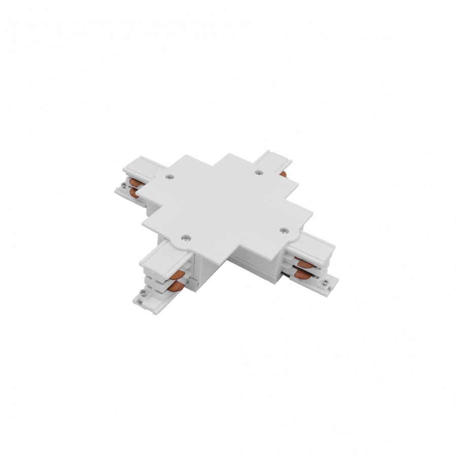 CTLS RECESSED POWER X CONNECTOR WHITE 8678