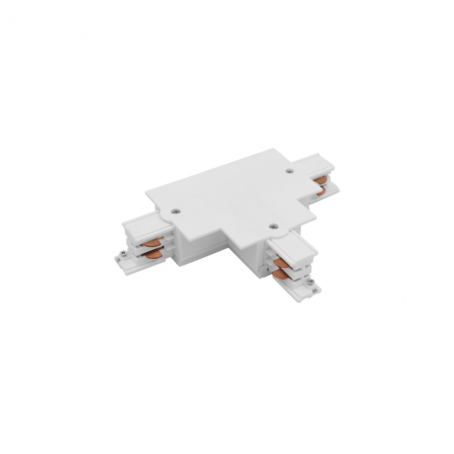 CTLS RECESSED POWER T CONNECTOR, RIGHT 2 (T-R2) WHITE 8681
