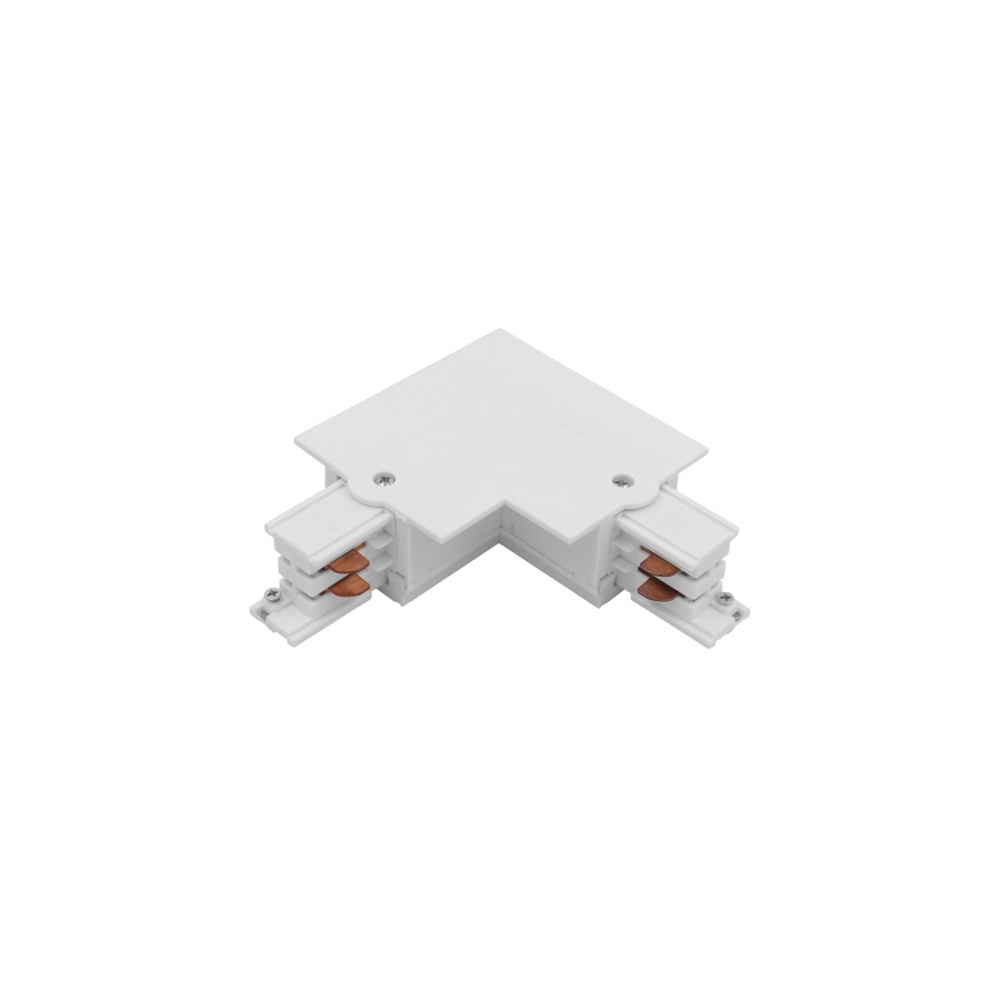 CTLS RECESSED POWER L CONNECTOR , LEFT ( L-L) WHITE 8684