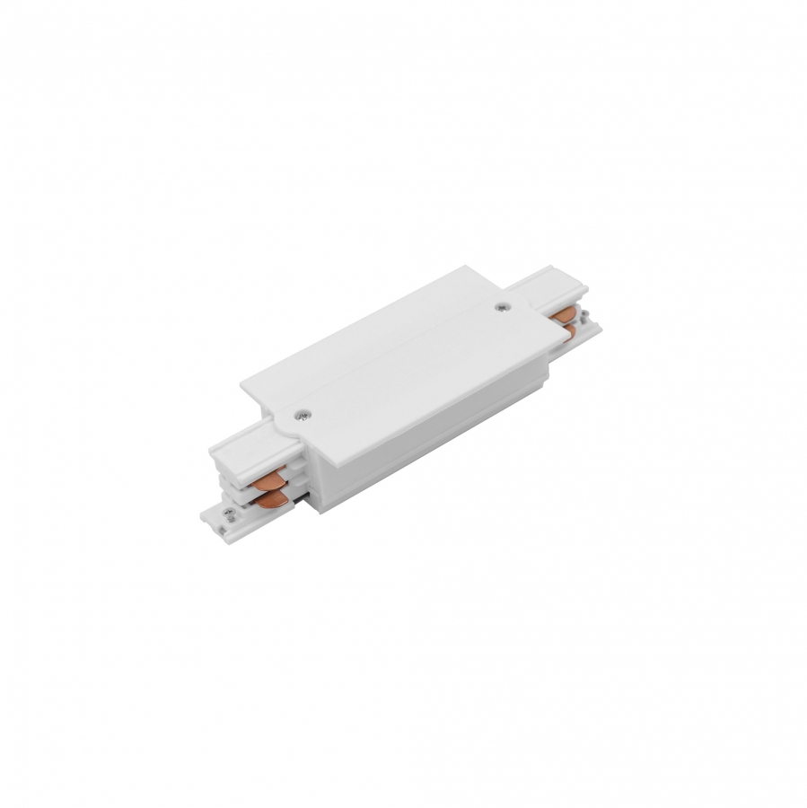 CTLS RECESSED POWER STRAIGHT CONNECTOR WHITE 8686