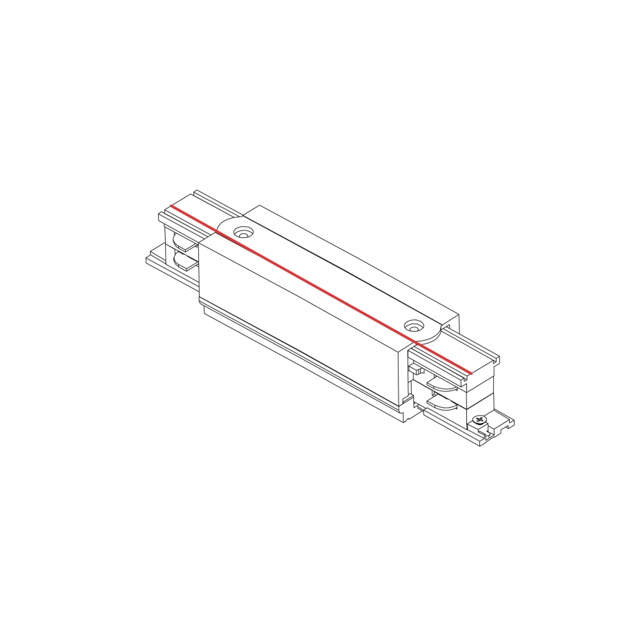 CTLS POWER STRAIGHT CONNECTOR WHITE 8707