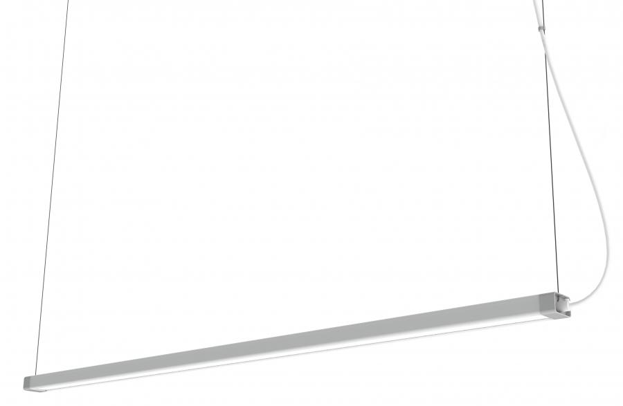 H LED WHITE 8908, 3000K, 2700 lm, 50 000 h, h=119 cm
