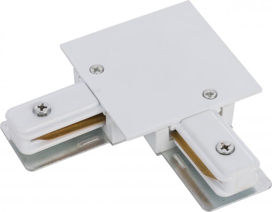 PROFILE RECESSED L-CONNECTOR WHITE 8970