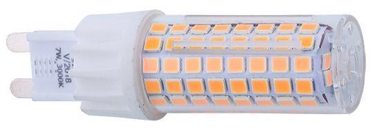 BULB G9 LED 9197, 3000K, 700lm, 25 000h