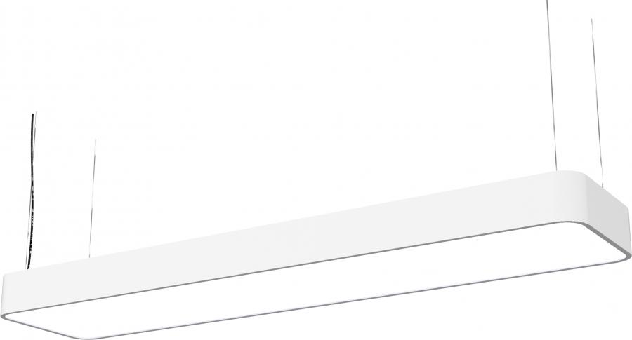 SOFT LED WHITE 90X20 9544, h=120 cm