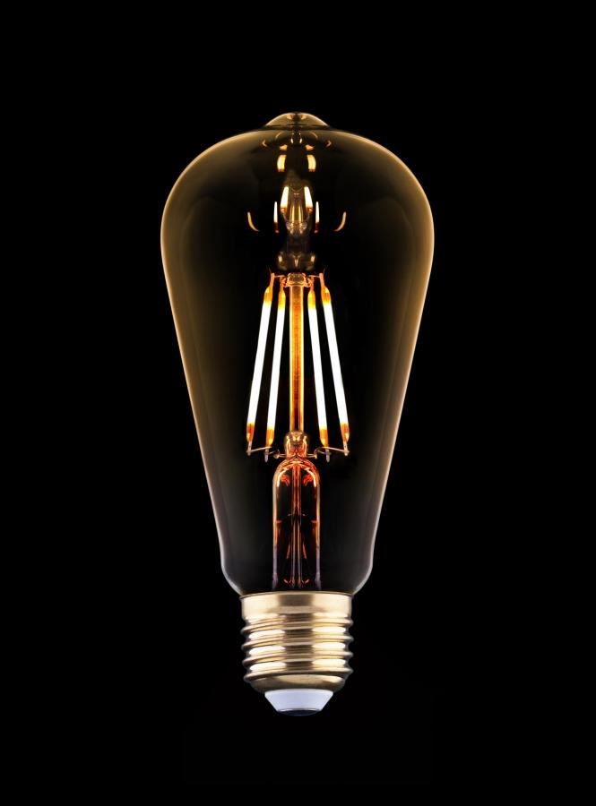 BULB VINTAGE LED 9796, 2200K, 360lm, 15 000h